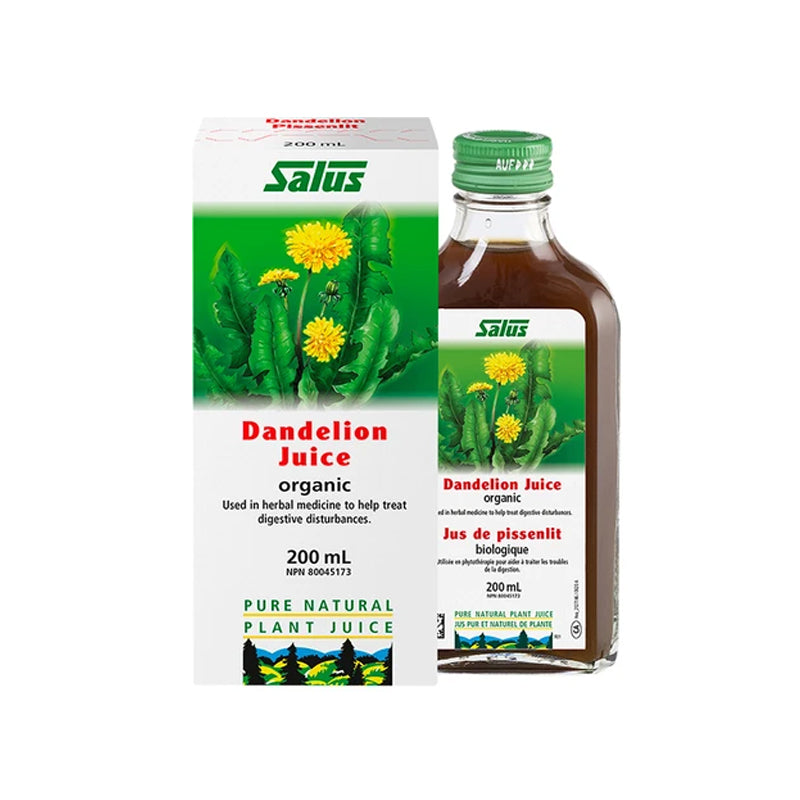 Salus Dandelion Fresh Plant Juice 200 ml