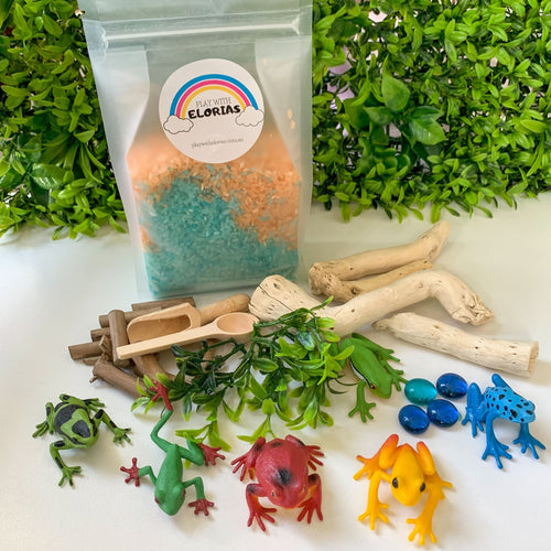 SMALL SENSORY KIT - Frogs