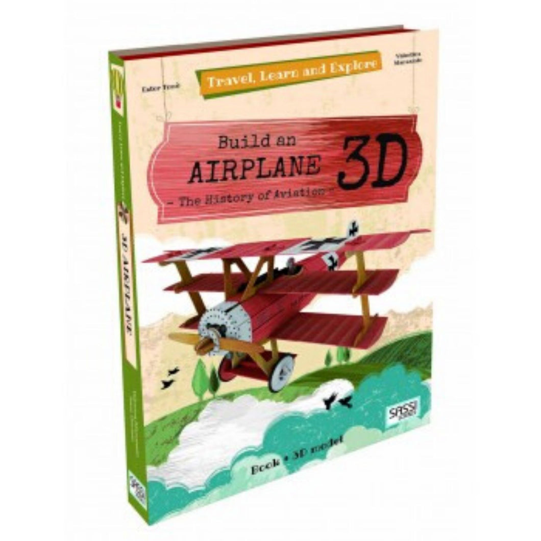 SASSI TRAVEL LEARN & EXPLORE - 3D Airplane Model