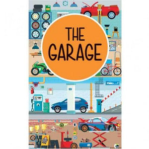 SASSI 3D GARAGE AND BOOK