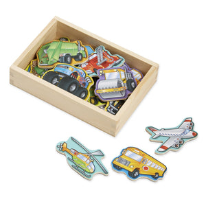Vehicle Magnets - Wooden Box of 20