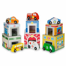 Load image into Gallery viewer, MELISSA & DOUG - Nesting & Sorting Building & Vehicles