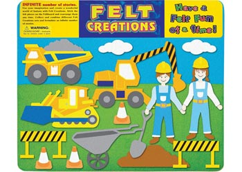 MELISSA AND DOUG FELT CREATIONS - Construction