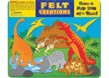MELISSA AND DOUG FELT CREATIONS - Dinosaur