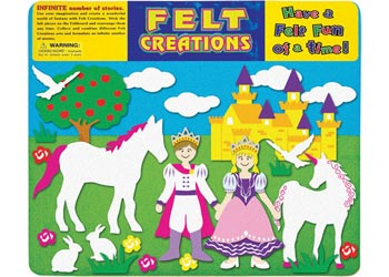 MELISSA AND DOUG FELT CREATIONS - Princess Castle