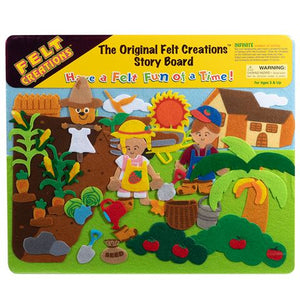 MELISSA & DOUG FELT CREATION - GARDEN