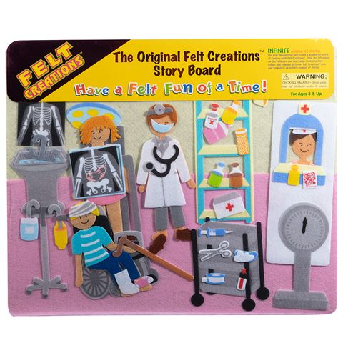 MELISSA AND DOUG FELT CREATION - Hospital
