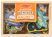 Load image into Gallery viewer, Vehicle Magnets - Wooden Box of 20