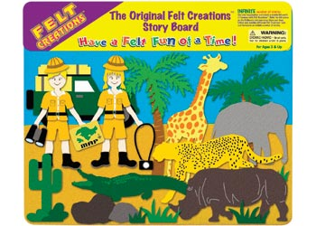 MELISSA AND DOUG FELT CREATIONS - Safari