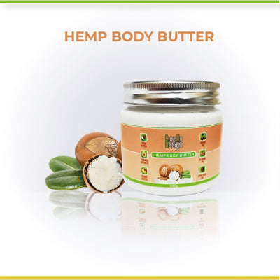 Cure By Design Hemp Body Butter - Hempivate