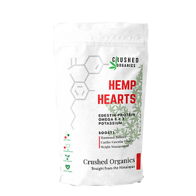 Crushed Organics - Hemp hearts