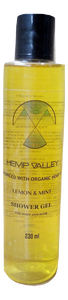 Hemp Valley - Lemon & Mint Shower Gel Hempivate