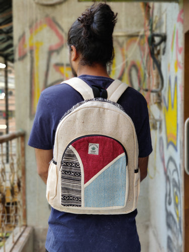 THC Symmetry RED & BLUE Backpack