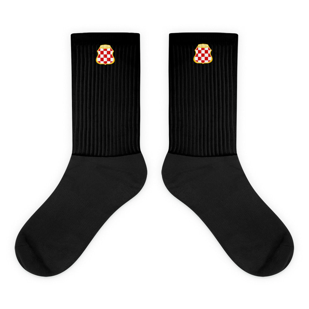 Grb Hercegovine - black edition - Socken