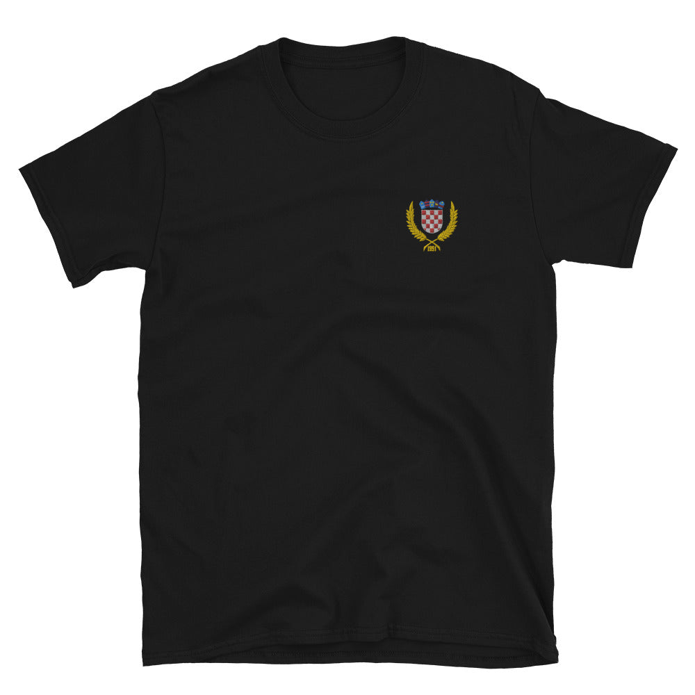"""Embroidered """"Grb 1991"""" t-shirt"""