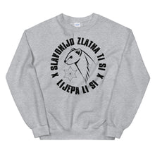 "Load the picture in the gallery viewer, ""Slavonijo zlatna ti si"" - Sweater"