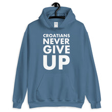 "Laden Sie das Bild in den Galerie-Viewer, ""Croatians never give up"" - Hoodie"