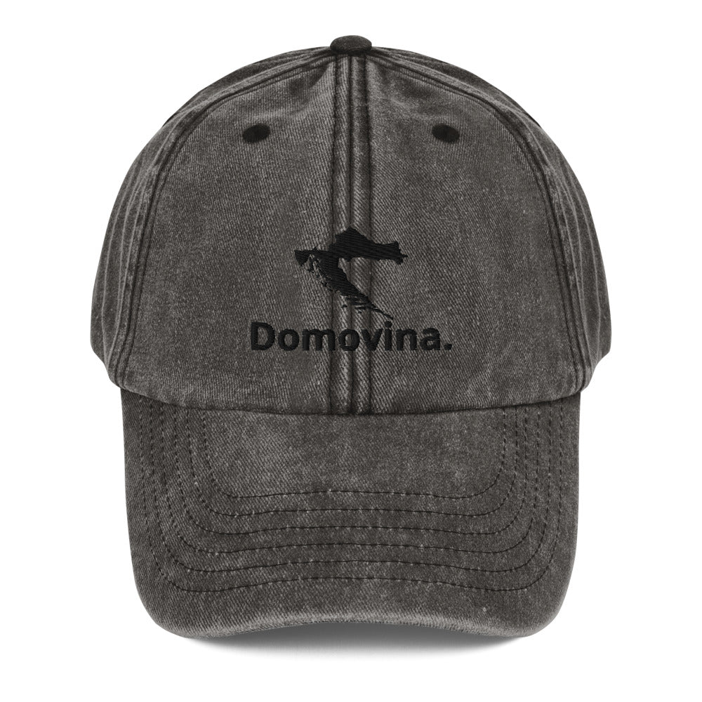 """""""Domovina"""" cap in a used look"""