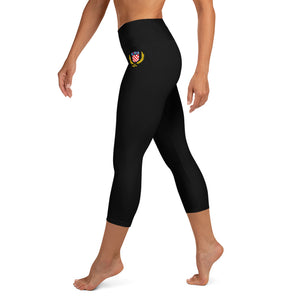 """Grb 1991"" - Yoga-Capri-Leggings"