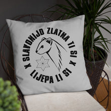 "Load the picture in the gallery viewer, ""Slavonijo"" - pillow"
