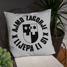 """Load the picture in the gallery viewer, """"Zagorje"""" - pillow"""