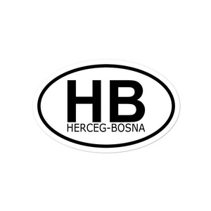 """Herceg Bosna"" - Sticker"