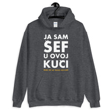 "Load the picture in the gallery viewer, ""Ja sam Šef ..."" - Hoodie"