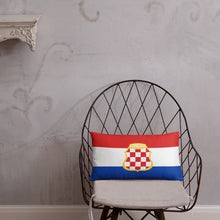 """Load the picture into the gallery viewer, """"Zastava Herceg Bosne"""" - pillow"""