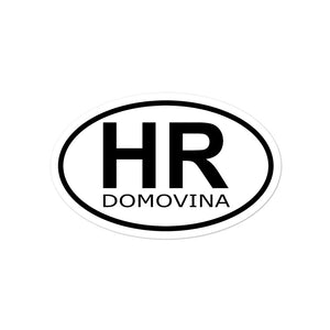 """Domovina"" -Sticker"