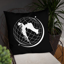 "Load the picture into the gallery viewer, ""Croatia is my World"" - pillow"