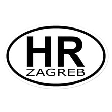 """Load the picture in the gallery viewer, """"Zagreb"""" - sticker"""
