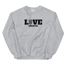 """Load the picture into the gallery viewer, """"Love Croatia"""" - Sweater"""
