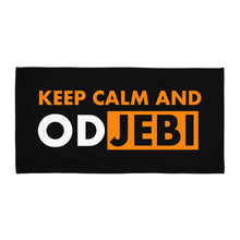 "Laden Sie das Bild in den Galerie-Viewer, ""Keep calm and odjebi"" - Strand - Handtuch"