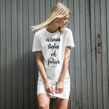 """Upload the picture in the gallery viewer, """"Nisam stala od Jutros"""" - t-shirt dress"""