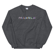 """Load the picture into the gallery viewer, """"Prijatelji / White"""" - Sweater"""