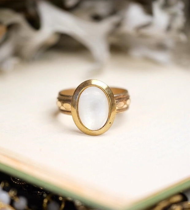 Mother of Pearl Conversion Ring