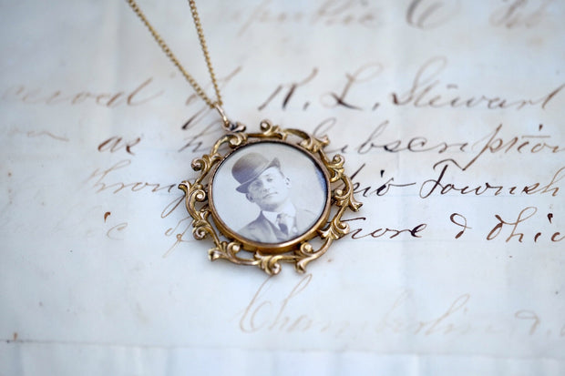 Lost Love Victorian Era Necklace
