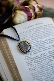 Lock of Hair Mourning Necklace 2