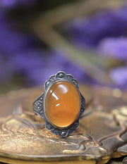 Art Deco Carnelian Ring