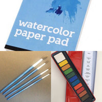 Watercolour painting gift pack