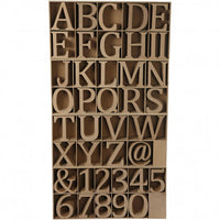 Wooden Letters/Numbers/Signs