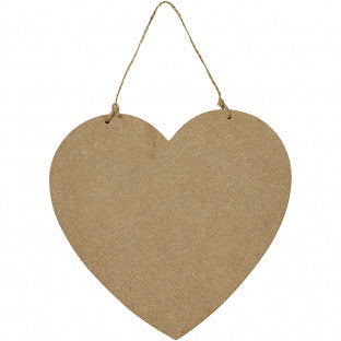 Wooden Heart Sign
