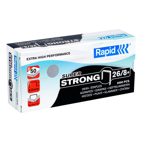 Rapid 26/8 Staples (5000)