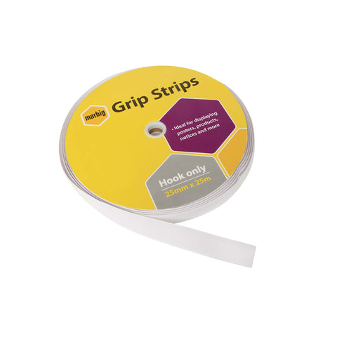 Marbig Loop Grip 25mm X 25mtr (White)