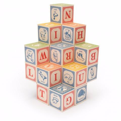 Uncle Goose ABC + Language Wooden Blocks