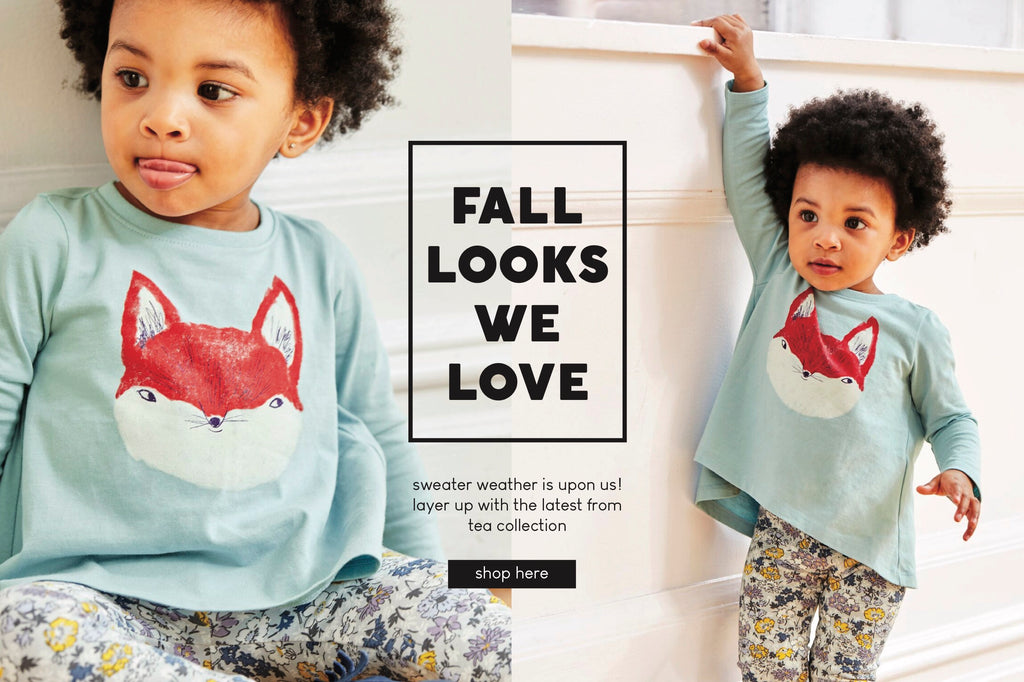 Tea Collection New Arrivals Little Girls Outfit Fox