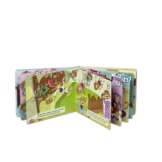 Poke-A-Dot Book - 10 Little Monkeys