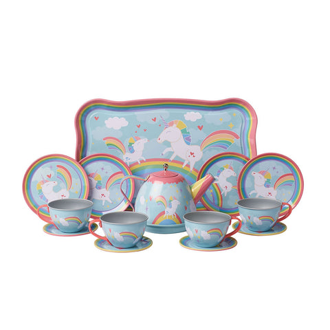 Unicorn Tin Tea Set by Schylling