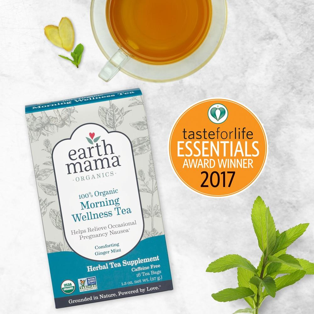 Morning Wellness Tea by Earth Mama Organics