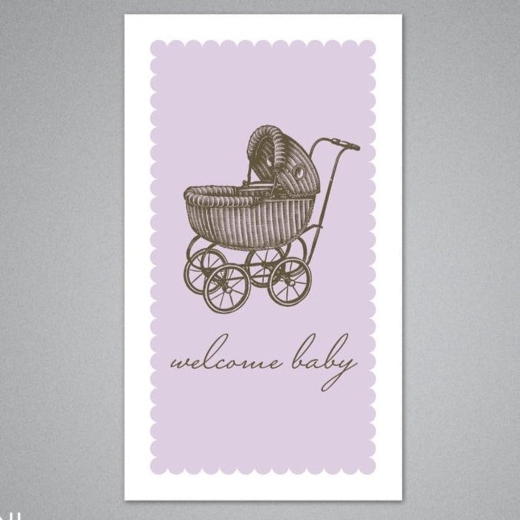 Welcome Baby Enclosure Card by Breathless Paper Co.